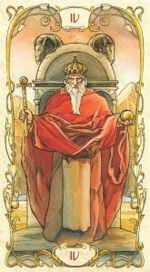 Tarot Mucha's IV - The Emperor