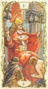 Tarot Mucha's The Hierophant