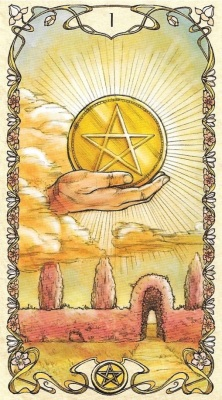 1 of Pentacles