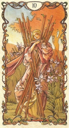 10 of Wands