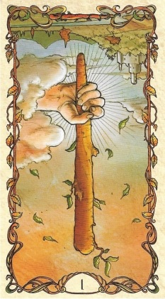 Ace of Wands R
